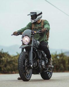 for the fresh children - moped - # for the fresh - Motorrad - Motorcycle Ducati Scrambler Custom, Cafe Racer Motorcycle, Moto Bike, Motorcycle Style, Motorcycle Outfit, Cafe Racer Style, Cafe Racer Bikes, Biker Photoshoot, Cb 500