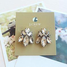 J. Crew studs J. Crew factory lovely Crystal studs. J. Crew Jewelry Earrings