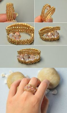 Like the seed beads ring