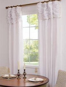 Love These Ruched Curtains!