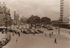 Praça João Mendes, 1954. Hagop. G. São Paulo do Passado