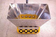Revocadora Din-Max de Dinacor de Enrique Plouganou, distinguida con el Sello de Buen Diseño 2013.