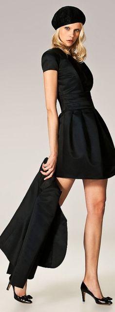 Giorgio Armani ~ little black dress