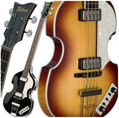 Hofner HCT500/1 CT Series Violin Bass Guitar with Hardshell Case