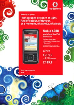 Vodafone POS Spring Campaign on Behance