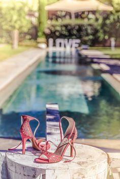 74b256485342 Monterey coral heeled sandals. Ravel