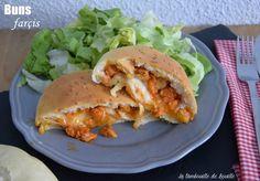 bun-homemade-poulet-mozzarella-poivron-basilique
