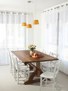 White Dining Chairs Design, Pictures, Remodel, Decor and Ideas