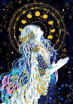 art inspo No matter how sensitive you are you - art Art Inspo, Bel Art, Illustration Manga, Character Art, Character Design, Ouvrages D'art, Art Anime, Moon Art, Psychedelic Art