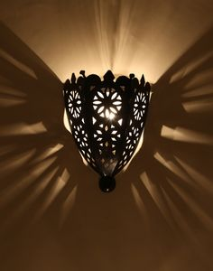 Moroccan Iron Wall Sconce