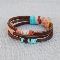 i donno who i could make and give this to, but it's an african friendship bracelet. sumthin' like that.