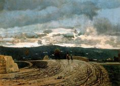 TELEMACO SIGNORINI (1835 Firenze - Firenze 1901) - novembre #TuscanyAgriturismoGiratola