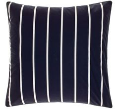Deco City Living Damien European Pillowcase Navy and Blue