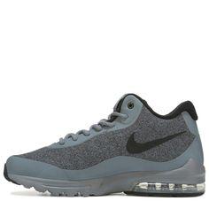 super popular 118fe 650d2 Nike Men s Air Max Invigor Mid Top Sneaker Boots (Grey Black) Nike Free
