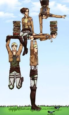 Shingeki no Kyojin (Attack on Titan) I've heard a lot of good about it; I need to watch it.