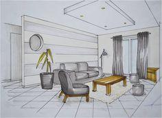 apprendre a dessiner l interieur d une maison