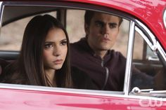 """""""Crying Wolf """"--Nina Dobrev as Elena and Paul Wesley as Stefan on THE VAMPIRE DIARIES on The CW. Photo: Quantrell D. Colbert/The CW �2010 THE CW NETWORK. ALL RIGHT RESERVED.pn"""