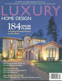 Luxury home and design magazine