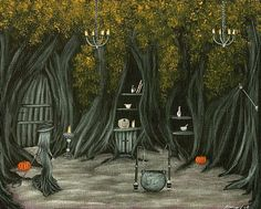 A Witch's Den - Philippe Fernandez