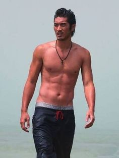 my new plaid pants: Gratuitous Godfrey Gao II Gorgeous Body, Gorgeous Men, Beautiful People, Godfrey Goa, Hot Asian Men, Asian Celebrities, Hot Hunks, Plaid Pants, Korean Men