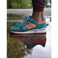 961a32d3a Ronnie Fief x ASICs Gel Lyte 3  Miami Dolphins  New Nike Shoes