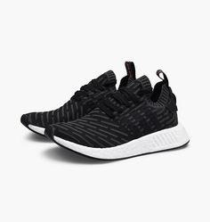 adidas nmd r2 primeknit black adidas superstar trainers white and pink