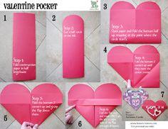 valentines day pouches
