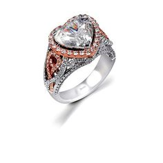 LOve this especially since my engagement ring is a 3 carat heart shape!
