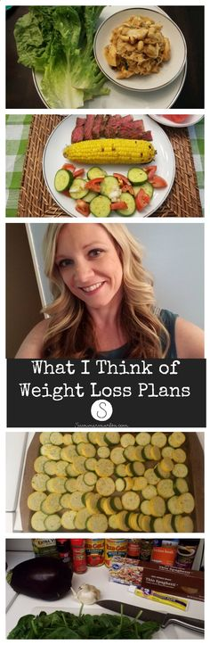 What I Think of Weight Loss Plans! Why a Healthy Lifestyle is a much better choice...