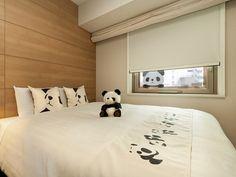 panda room at Mitsui Garden Hotel Ueno