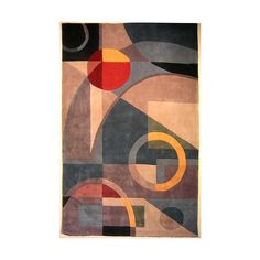 Shop Safavieh Rodeo Drive Blue and Multicolor Rectangular Indoor Tufted Area Rug (Common: 6 x 9; Actual: 72-in W x 108-in L x 0.67-ft Dia) at Lowes.com