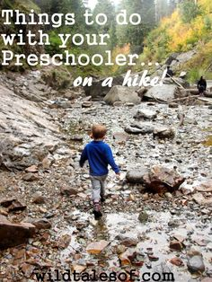 8 Things to do with your Preschooler on a Hike - wildtalesof.com
