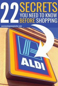 22 Secrets You Need To Know Before Shopping Aldi. Passionate Penny Pincher is the source printable & online coupons! Get your promo codes or coupons & save. Aldi Shopping, Shopping Hacks, Aldi Store, Grocery Store, Frugal Living Tips, Frugal Tips, Frugal Family, Family Meals, Aldi Meal Plan