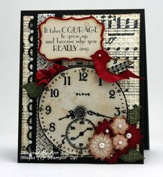 A Sense of Time for the PPA by bbcrazy - Cards and Paper Crafts at Splitcoaststampers