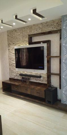 79 Adorable Tv Wall Decor Ideas - Gallery Home Decorations Modern Tv Room, Modern Tv Wall Units, Modern Living, Small Living, Minimalist Living, Tv Unit Furniture Design, Tv Unit Interior Design, Modern Tv Cabinet, Tv Cabinet Design