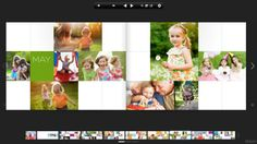 Interesting photobook layout