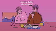 2nd collaboration with Shin Mo-Rae illustrator for 2016 Christmas