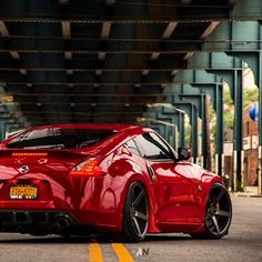 Awesome! Nissan 370Z rocking Vossen Wheels... Bet my daughter would love this for sweet 16...
