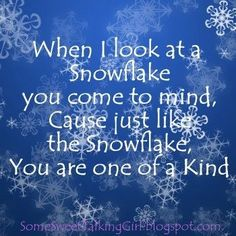 Some Sweet Talking Girl: Snowflake activity - Patriarchal Blessing Christmas Verses, Christmas Snowflakes, Christmas Fun, Christmas Messages, Crochet Snowflakes, Christmas Ornaments, Christmas Greetings, Snowflake Quote, Snowflake Cards