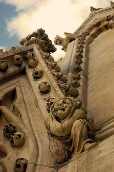 Cathedral Gargoyles Washington National Cathedral