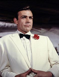 Sean Connery ( White dinner jacket always in style)