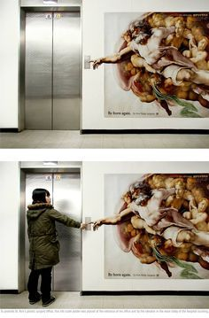 Nice marketing, brings some good art into the every day world. #advertising…