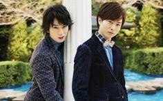 Sho Sakurai and Jun Matsumoto