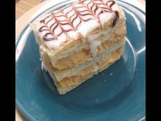 How to make Mille Feuille (Napoleon Pastry) One of my all time favorite NJ diner orders.