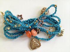 10 Easy and Free Crochet Bracelet Patterns | 101 Crochet