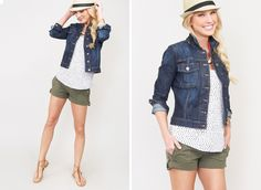 """casual summer, but not """"lazy""""  Evereve - Formerly Hot Mama: women's clothing for moms"""