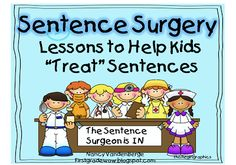 First Grade Wow: Word and Sentence Surgeons