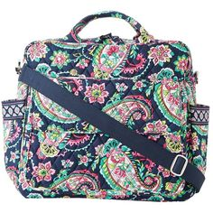 Vera Bradley Convertible Baby Bag (830 GTQ) ❤ liked on Polyvore featuring bags, handbags, baby, baby girl, kids, accessories, diaper bags, petal paisley, convertible diaper bag and vera bradley bags