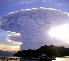 Cloud that looks so much like a nuclear mushroom cloud