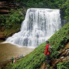 burgess falls Tennessee got to love this beautiful place